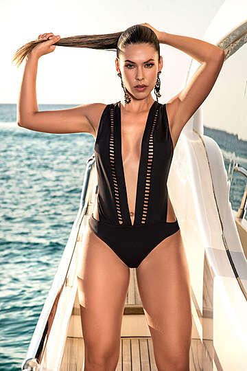 Deep Allure One Piece Swimsuit