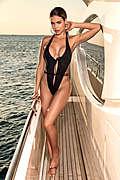 Jet Black Monokini