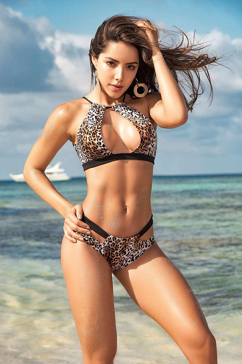 Leopardess Two Piece Swimsuit