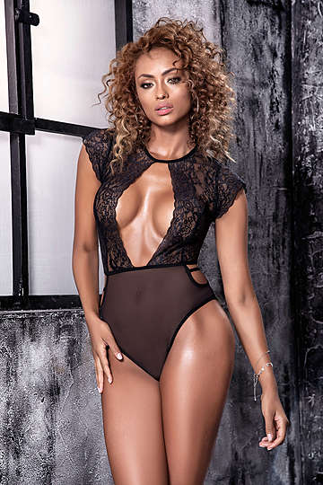 Sensually Sheer Bodysuit