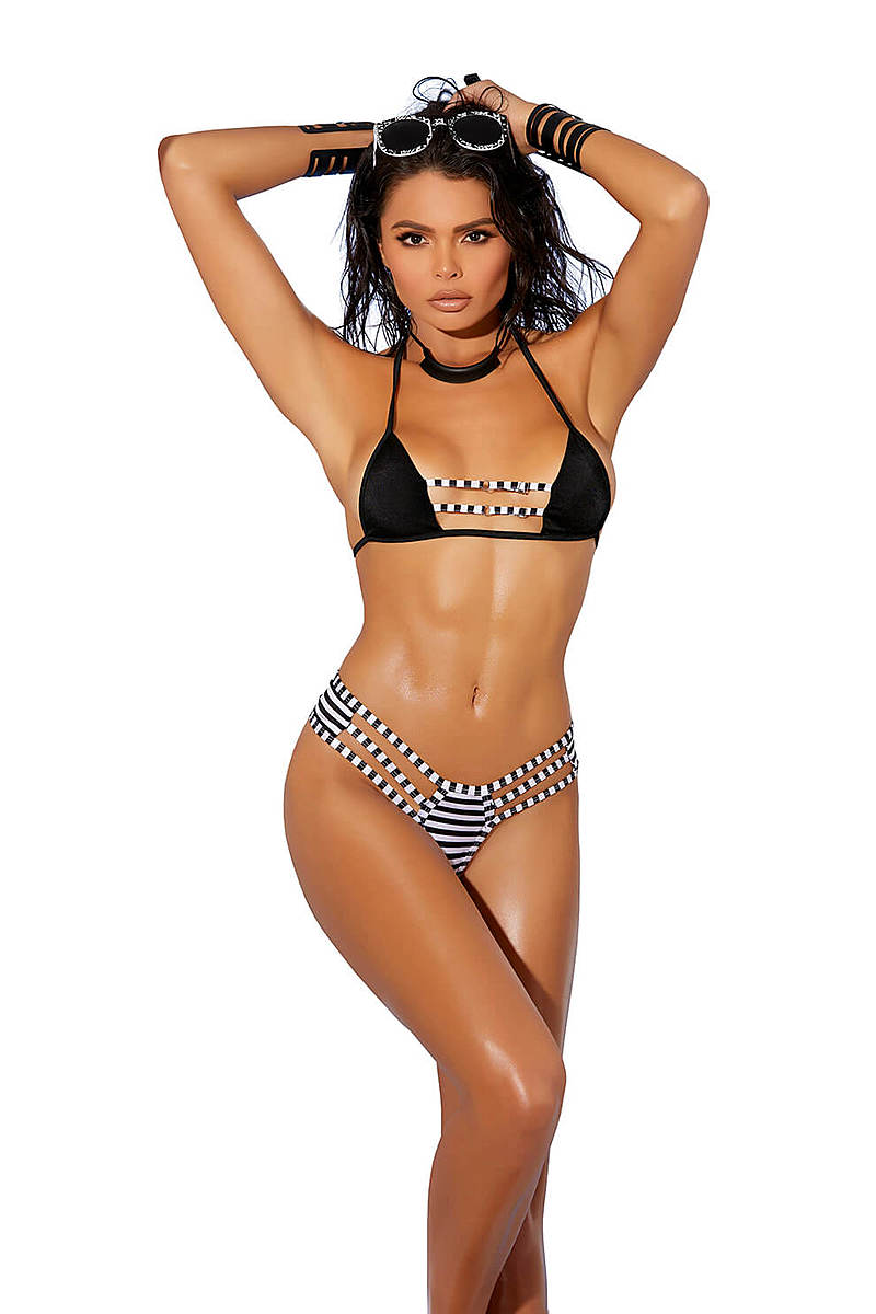 Checkered Fun Bikini