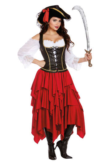 Holy Ship Women's Pirate Costume