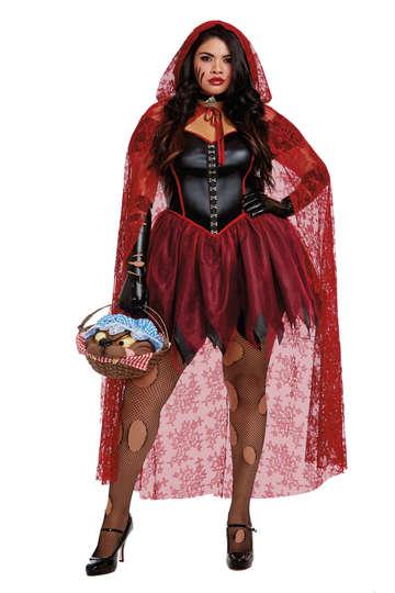 Plus Size Big Bad Red Costume