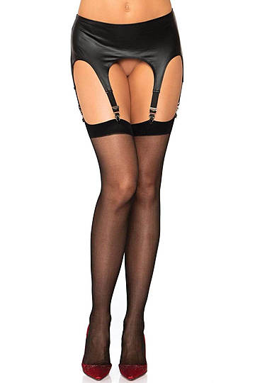 Spandex Sheer Backseam Stockings