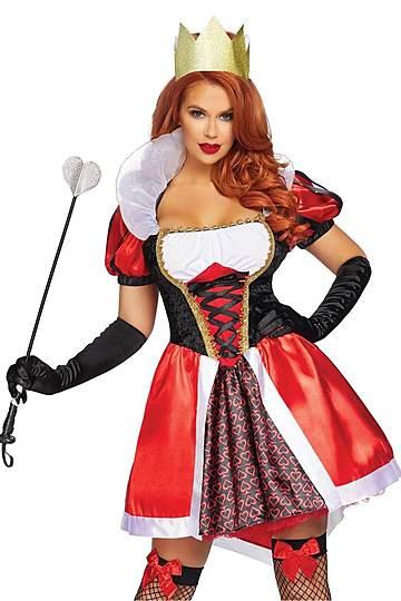 Sexy Wonderland Queen Costume