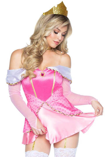 Naughty Napping Princess Costume
