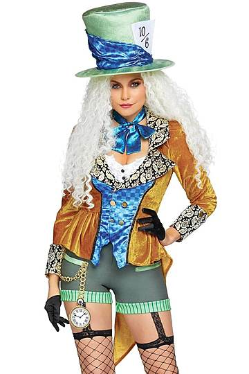 Classic Mad Hatter Sexy Costume