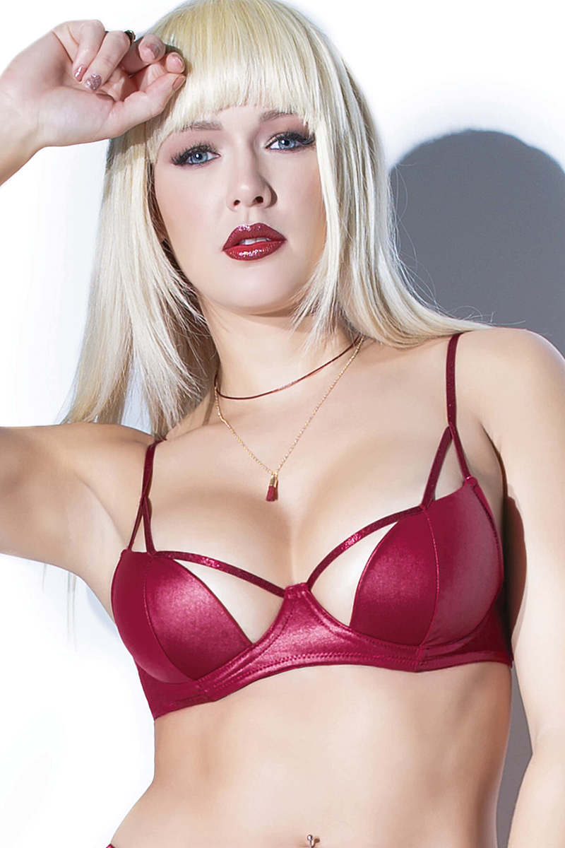 Cut Away Wetlook Bra