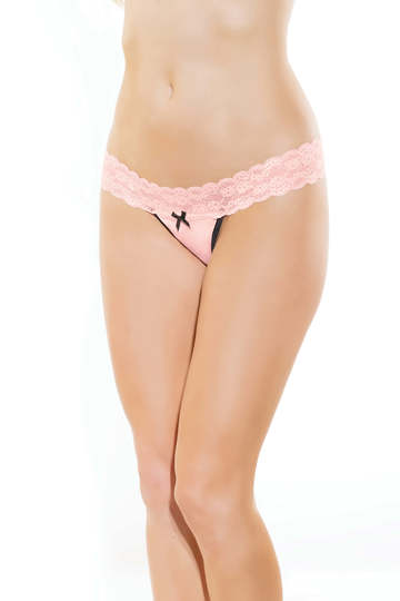 Passion Pink Thong
