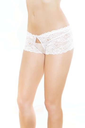 Believe Me Crotchless Panty