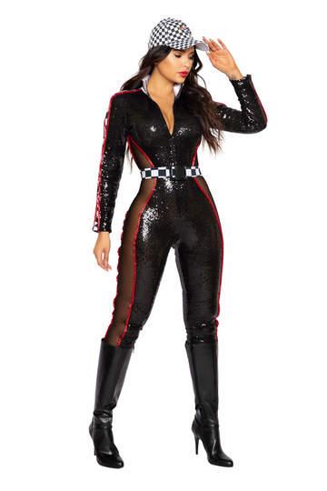 Glam Racer Babe Costume