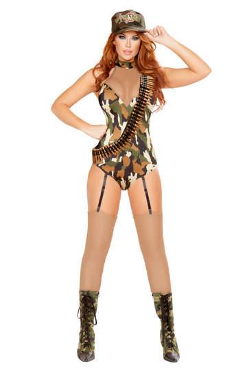 Sexy Sergeant Soldier Costume