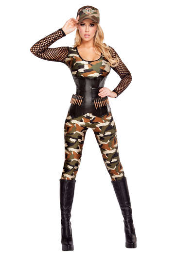 Lusty Lieutenant Costume