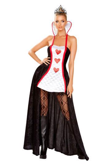 Ruler of Hearts Queen Costume