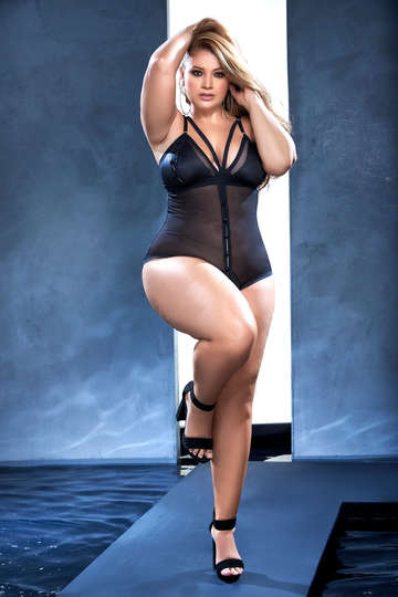 Plus Size Essential Love Bodysuit