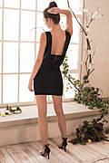 Curvalicious Plunging Mini Dress