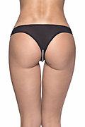 Pearl Crotchless Thong Panty