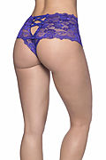 Goodnight's Kiss Lace Crotchless Boyshort