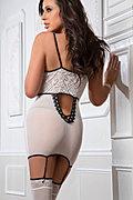 Cupless Garter Dress & Stockings Set