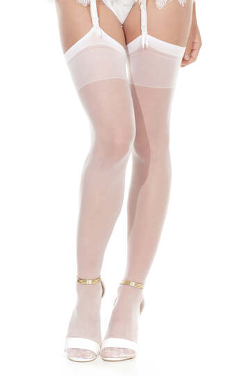 Sheer Thigh High Stockings