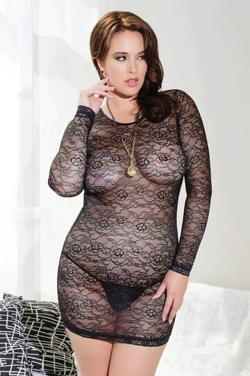Plus Size Scandalous Mini Dress