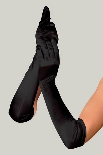 Luna Satin Gloves