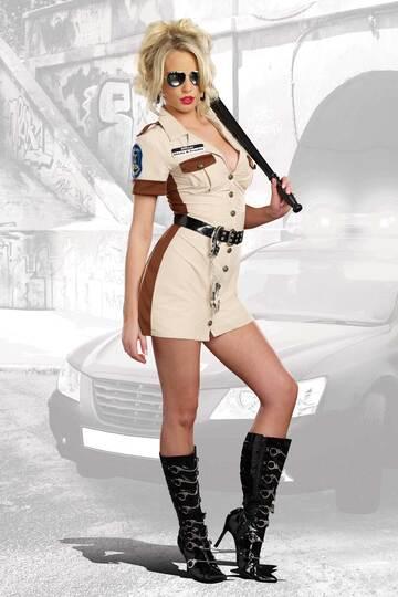 Don't Stop Cop Costume