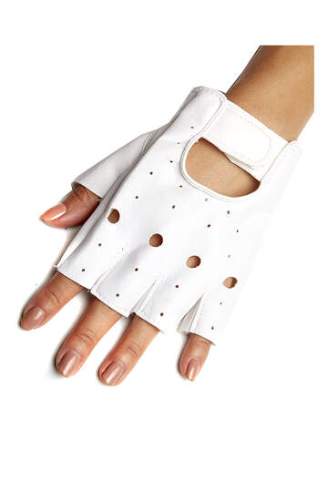 Fingerless Moto Gloves