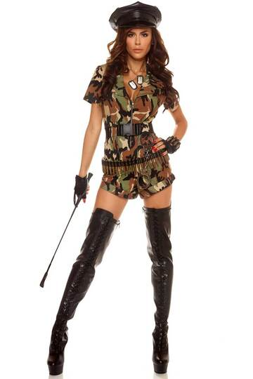 War Ready Soldier Women's Costume