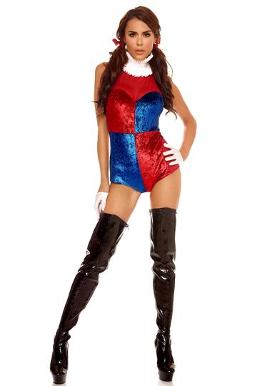 Quintessential Jester Supervillian Costume