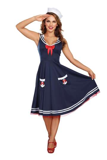 All Aboard Sailor Women's Costume