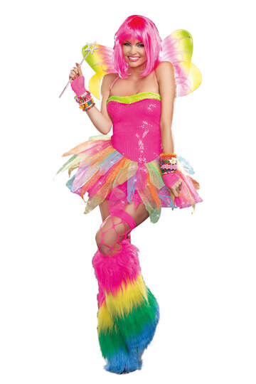 Rainbow Fairy Women's Costume