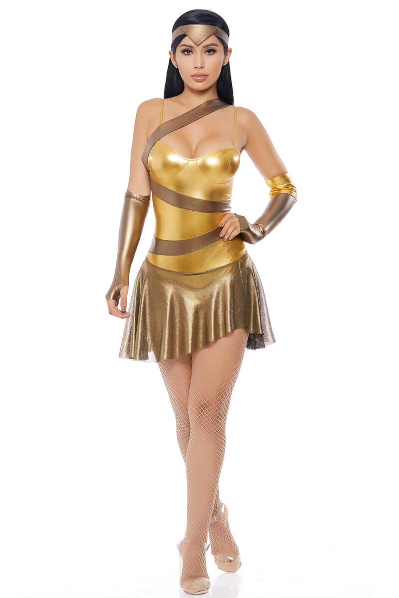 Golden Amazon Hero Costume