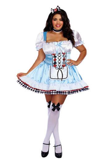 Beyond Wonderland Plus Size Women's Costume