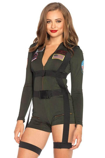 Top Gun Women's Romper