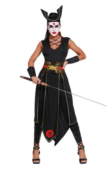 Samurai Women's Costume