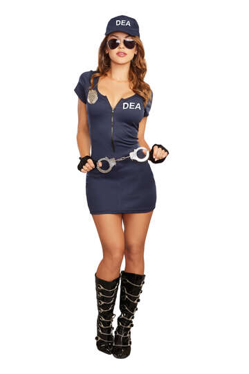 DEA Agent Officer Costume