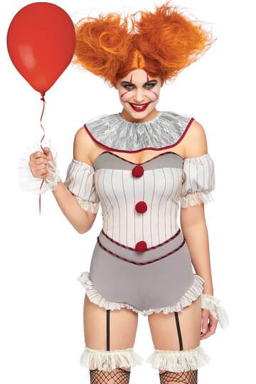 Killer Sewer Clown Costume