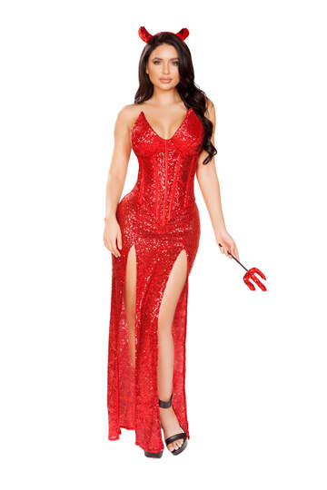 Sexy Devil Gown Costume