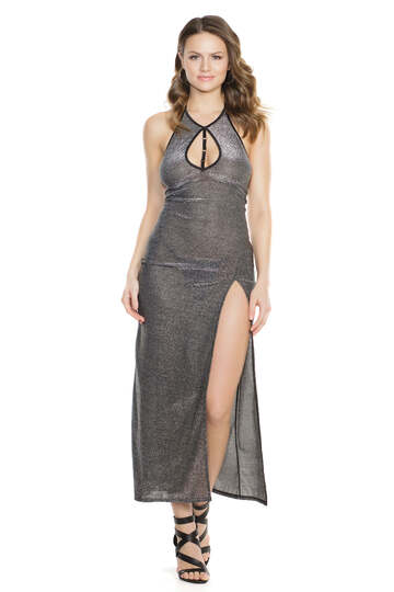 Silver Seduction Gown