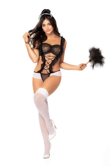 Room Service Maid Lingerie Costume