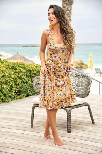 Breezy Midi Dress