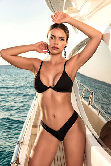 All Aboard Three Piece Swimsuit