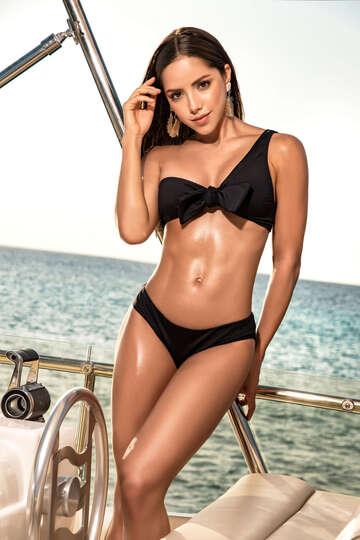 Bandeau Top Bikini Set