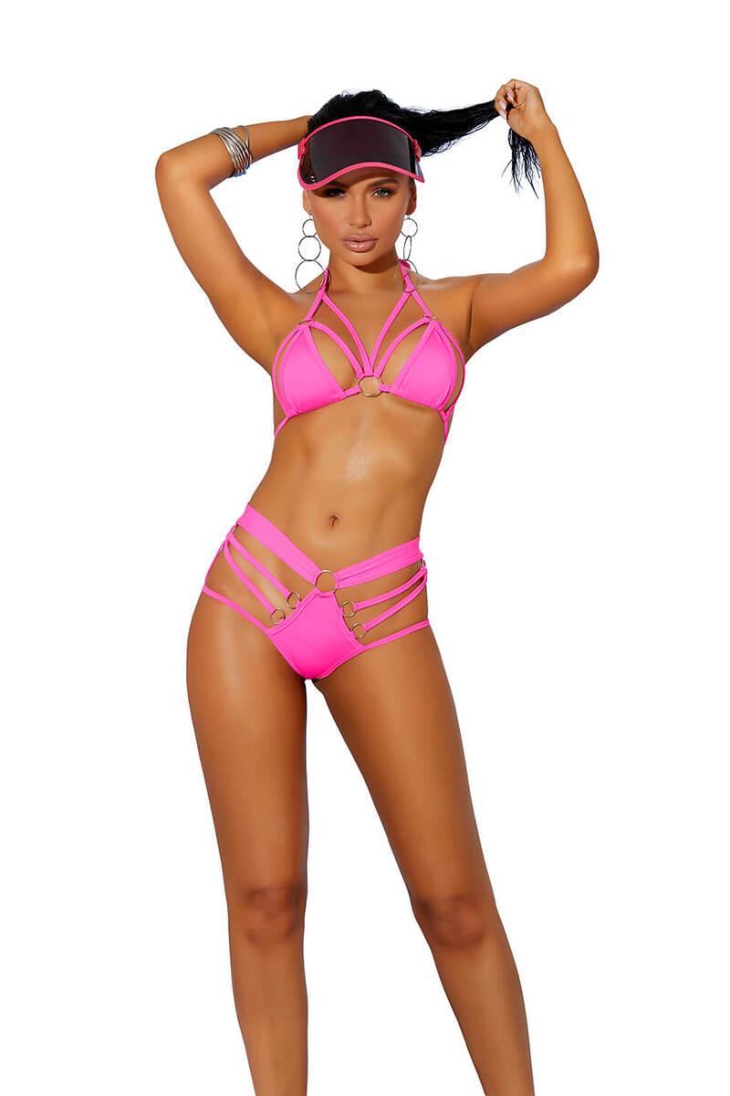 Lavishing Bikini Top & G-String Set