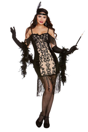 All Dolled Up Flapper Costume