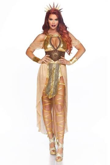 Sexy Sun Goddess Costume