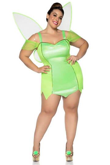 Plus Size Pretty Pixie Fairy Costume