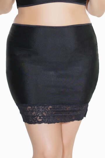 Coquette Plus Size High Waist Skirt