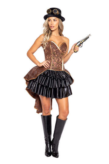 Sexy Steampunk Lady Costume